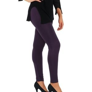 Pants - Casual Light weight Leggings Purple